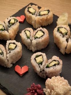 Heart sushi 1
