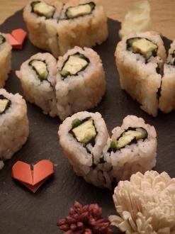 Heart sushi 3