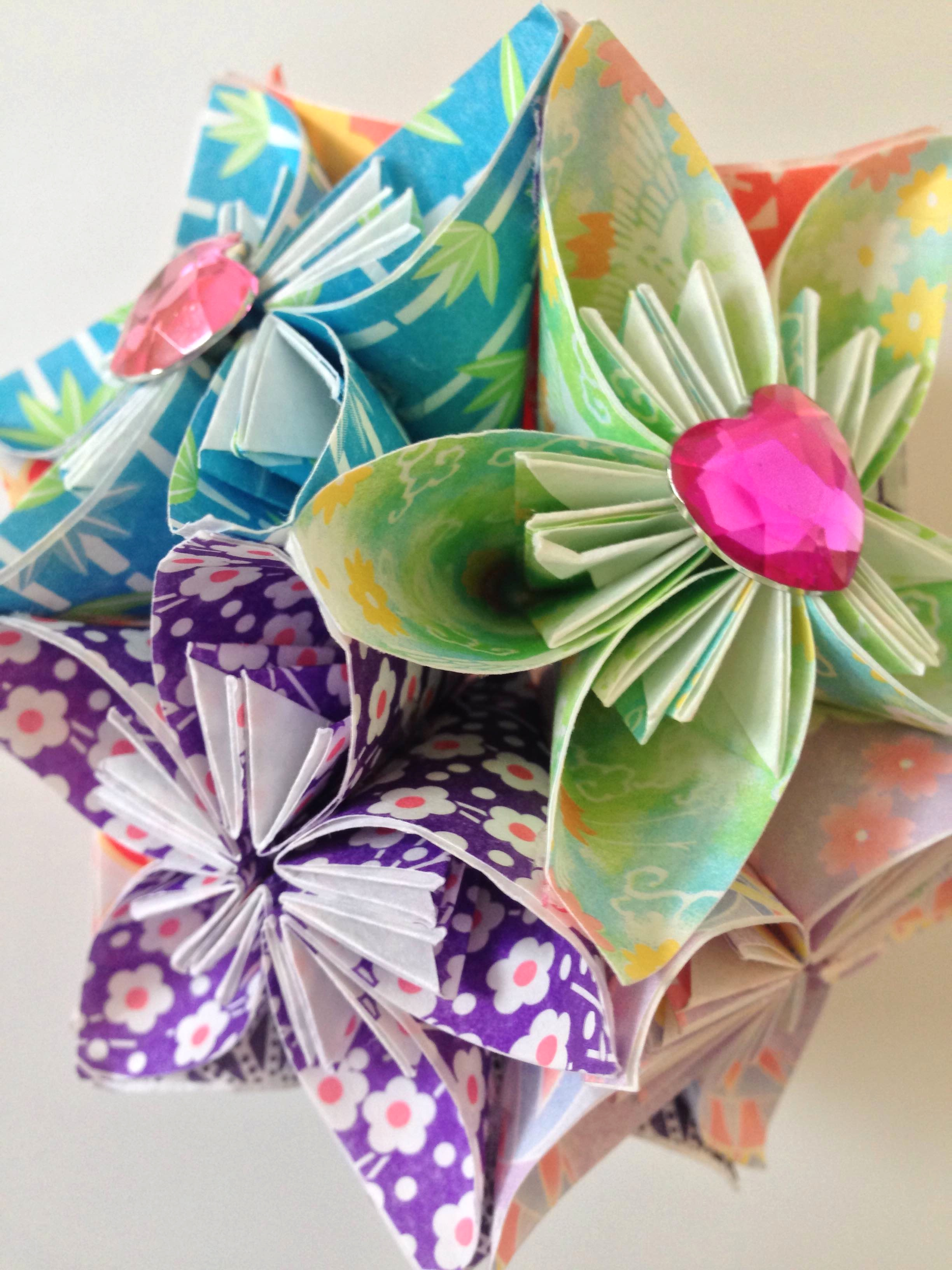 Were Very Excited To Now Be Hosting Origami Making Hen Parties You Will All Have Fun Learning How Make Beautiful Kusudama Flowers With Full Guidance