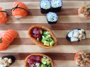 Sushi Canapes 1
