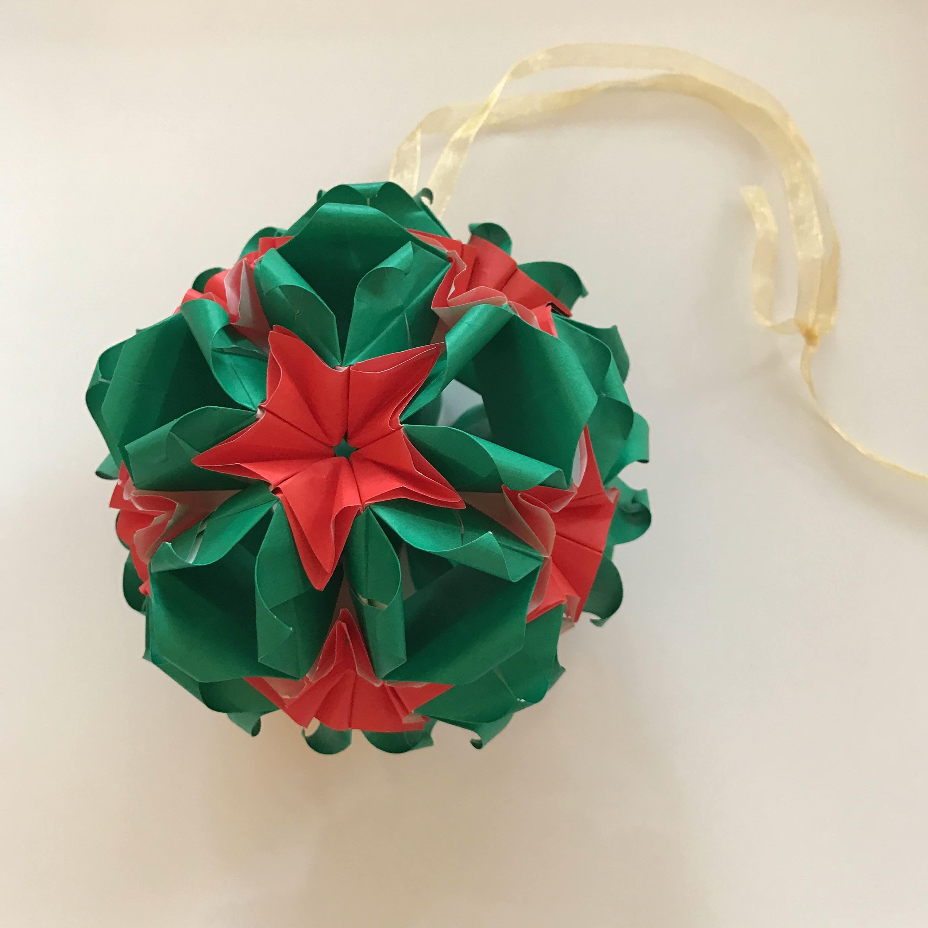 Christmas Origami.Handmade Christmas Origami To Purchase On Etsy Alice Sushi Art